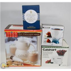 LOT OF ASSORTED INCLUDING FRENCH HOT CHOCOLATE