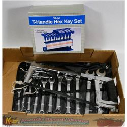 "FORCE 11 PIECE COMBINATION WRENCH SET 1/4""-7/8"" &"