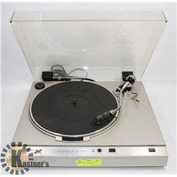 SANSUI DIRECT DRIVE AUTOMATIC TURNTABLE WITH SHURE
