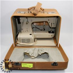 VINTAGE SEWING MACHINE IN CASE