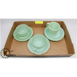 JADEITE FIRE KING DISHES