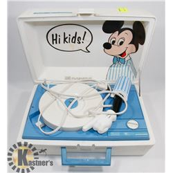 VINTAGE MICKEY MOUSE SEARS ELECTRONICS RECORD