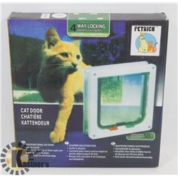 NEW IN BOX CAT DOOR-SMALL
