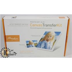 CANVAS TRANSFER KIT-TRANSFERS YOUR PHOTO ONTO