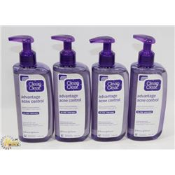 BAG OF ASSORTED ACNE CLEANSERS