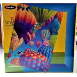 1)  FACTORY SEALED 3D PUZZLE OF BALLOONS