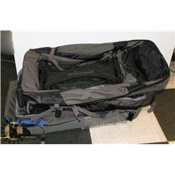 LOT OF 3  EDDIE BAUER BAGS EXPEDITION DROP BOTTOM