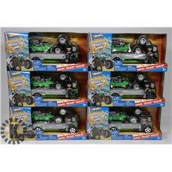 CASE OF MONSTER JAM PLAY SETS