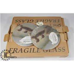 CASE OF GLASS CUTTING BOARDS