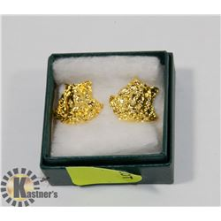 GOLD TONE EARRINGS