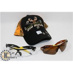NEW! BIG BUCK BALLCAP SOLD WITH TWO PAIRS OF