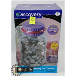 DISCOVERY COIN COUNTING MONEY JAR