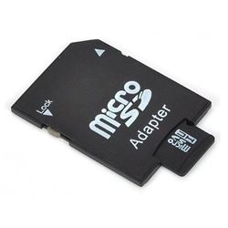 NEW 32 GB MICRO SD W/ADAPTOR