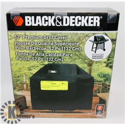 BLACK AND DECKER GRILL COVER-NEW