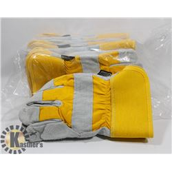 BUNDLE OF 12 WINTER WORK GLOVES