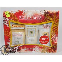 BURTS BEES FACE ESSENTIALS GIFT SET