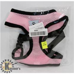 NEW PINK DOG VEST/ HARNESS