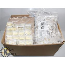 CASE OF 160 HONEY SPREAD PACKETS & 3000+ SALT &