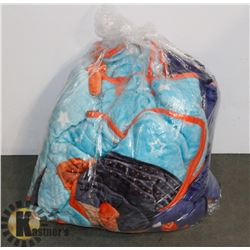 BAG OF BABY BLANKETS