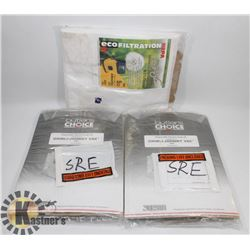 BOX OF 15PCS OF VACUUM BAGS