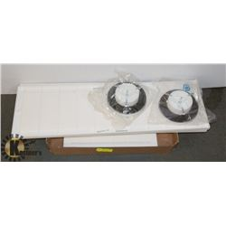 SET OF COLD AIR RETURNS & 2 CEILING HOT AIR DIFFUSOR