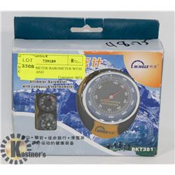 NEW ALITMETER-BAROMETER WITH COMPASS AND