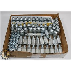 BOX OF 100PC QUICK CONNECT AIR COUPLERS