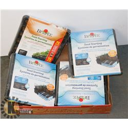 BURPEE SEEDING KITS - FOUR