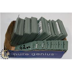 BOX OF 67 FENCE POST CONNCETORS