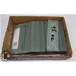 BOX OF 95 FENCE POST CONNCETORS