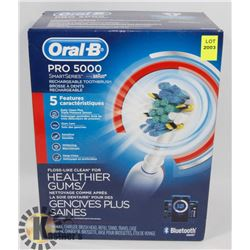 NEW! ORAL-B PRO 5000 RECHARGEABLE TOOTHBRUSH