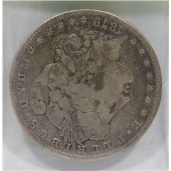 1879 US MORGAN SILVER DOLLAR.