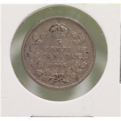 1905 EDWARD VII 5 CENT