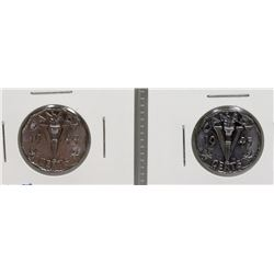 1944 & 1945 WWII VICTORY NICKLES