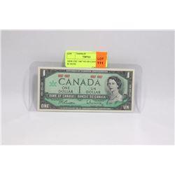 GEM UNC 1967 NO SN CENTENNIAL $1 NOTE