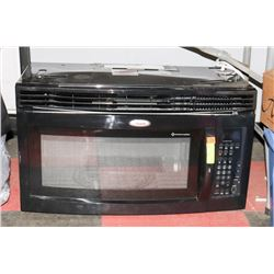 NEW WHIRLPOOL GOLD OVER TOP MICROWAVE