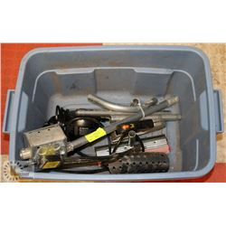 LOT OF ASSORTED INCLUDING ELECTRICAL CONDUIT,
