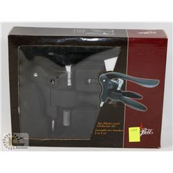 3PC PLASTIC LEVER CORKSCREW SET