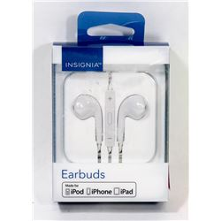 INSIGNIA IPHONE IPAD EARBUDS