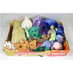 BOX OD BEANIE BABIES AND BUDDIES