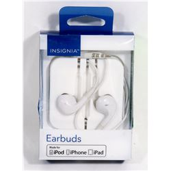 NEW INSIGNIA IPHONE IPAD EARBUDS