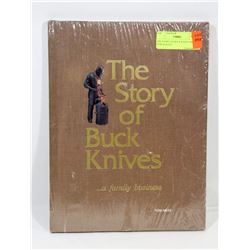 THE STORY OF BUCK KNIVES BOOK NEW SEALED.