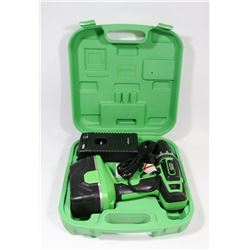 KAWASAKI CORDLESS DRILL 21.6 V WITH BATTERY AND