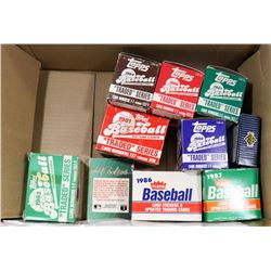 BOX OF 1980'S BASEBALL CARDS