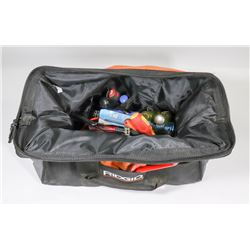 LARGE RIDGID TOOL BAG WITH CONTENTS