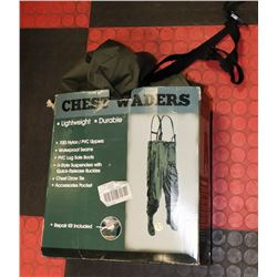 HIP WADERS SIZE 10.