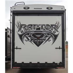 REPO! 2013 KEYSTONE 37FT RAPTOR 332 TOY HAULER