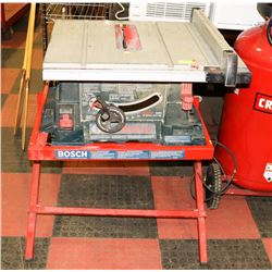 BOSCH MODEL TS1000 TABLE SAW STAND.