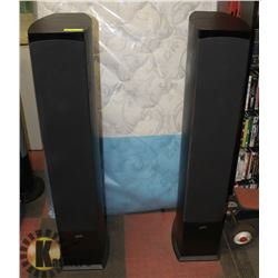 SET OF 2 SOUND STAGE TOWER SPEAKERS