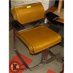 LOT OF 5 RETRO KITCHEN CHAIRS